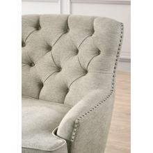 Smartbuy Button Tufted Accent Chair