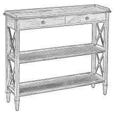 See Details - Winston Bookcase, Unfinished Frame