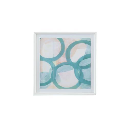 Bassett Mirror Company - Aqua Circles III