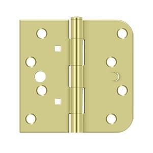 "4""x 4""x 5/8""x SQ Hinge - Zinc Dichromate Product Image"