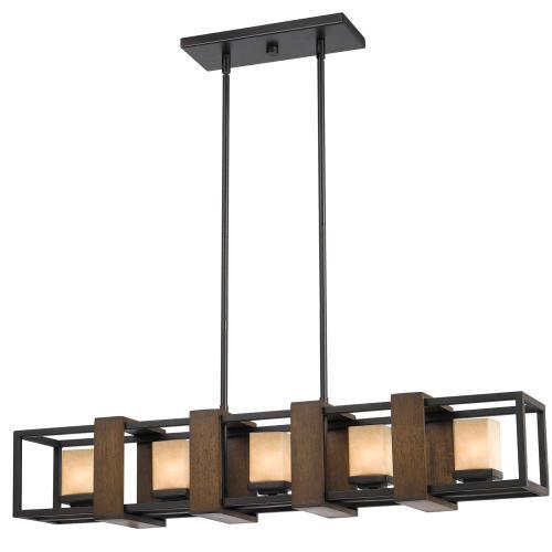Cal Lighting & Accessories - 60W X 5, G9 Island Fixture