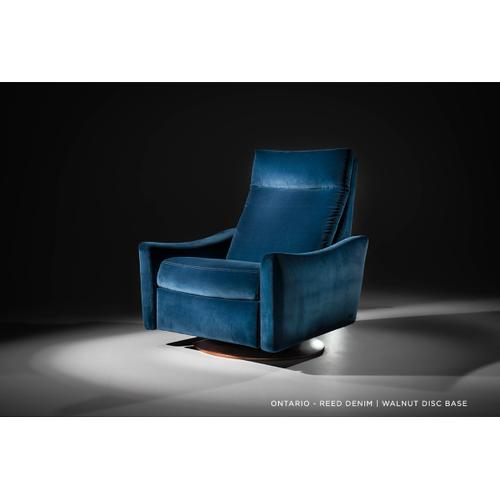 American Leather - Ontario - Glider Rocking Chair - American Leather