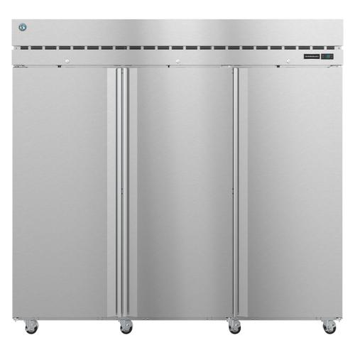 Hoshizaki - F3A-FS, Freezer, Three Section Upright, Full Stainless Doors with Lock