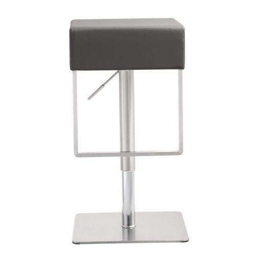 Tov Furniture - Seville Grey Steel Barstool