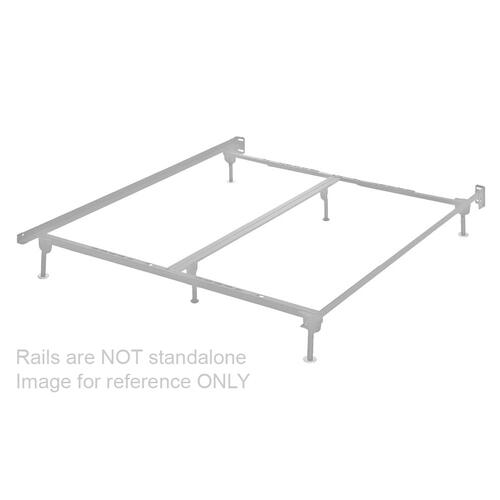 Adinton California King Panel Rails With Roll Slats