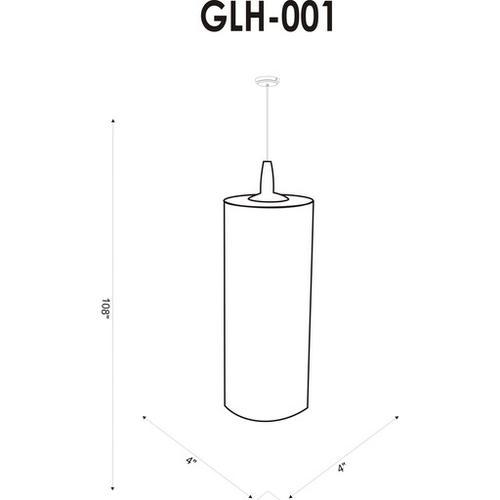 "Glasshill GLH-001 11.5""H x 4""W x 4""D"