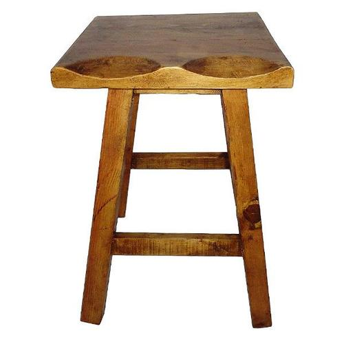 """L.M.T. Rustic and Western Imports - 30"""" Nogal Bench Seat Stools"""