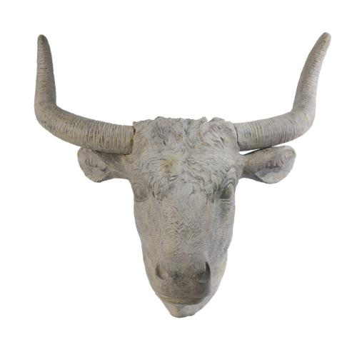 A & B Home - Angus Horned Wall Accent