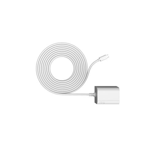 Stick Up Cam Elite with Indoor/Outdoor Power Adapter - White
