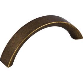 Crescent Pull 3 Inch (c-c) German Bronze