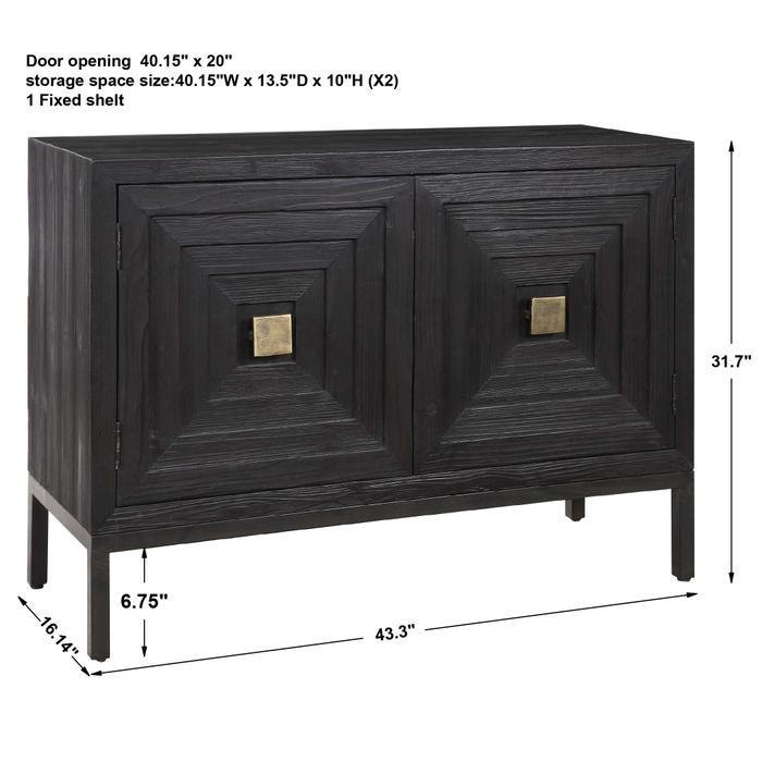 Uttermost - Aiken 2 Door Cabinet