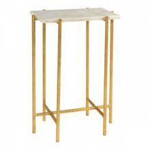 Gold Abbott Side Table