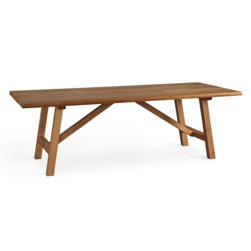 See Details - Martin Teak Tables Rectangular Dining Table