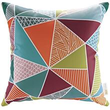 Modway Outdoor Patio Single Pillow in Mosaic