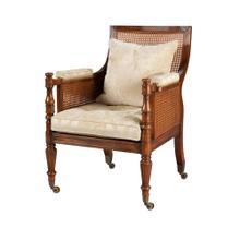 Regency Library Bergère Accent Chair
