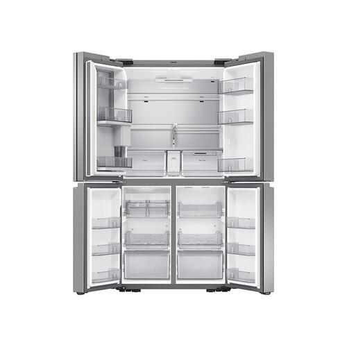 Samsung - 29 cu. ft. Smart 4-Door Flex™ refrigerator with Beverage Center and Dual Ice Maker in Stainless Steel