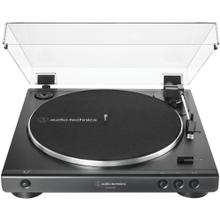 USB and Analog Fully Automatic Belt-Drive Turntable (Black)
