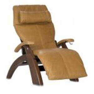 Perfect Chair ® PC-420 Classic Manual Plus - Walnut - Sycamore Premium Leather