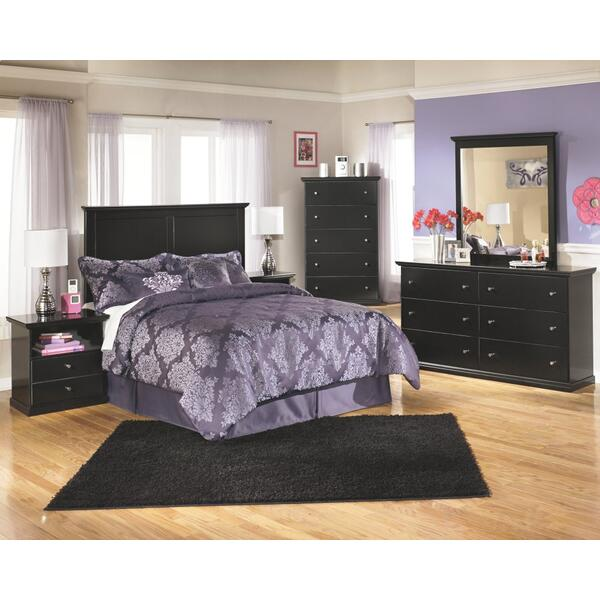 See Details - Full Panel Headboard With Dresser