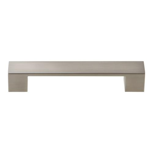 Wide Square Pull 5 1/16 Inch (c-c) - Brushed Nickel