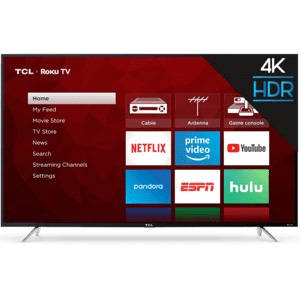 "TCL 65"" Class 4-Series 4K UHD HDR Roku Smart TV - 65S405"