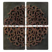 Divided Medallion Wall Art - Set of 4