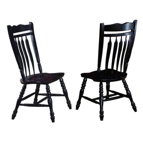 "Aspen Dining Chair - Antique Black (42"")"