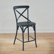 X Back Counter Chair- Navy Product Image