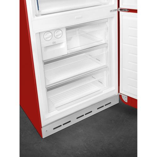 18 cu. ft. retro-style fridge, Red, Right-hand hinge