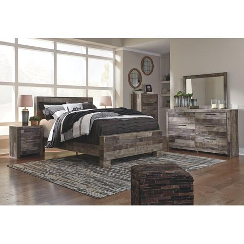 Derekson Queen Panel Bed