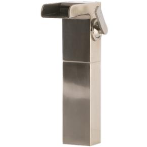 Kascade Vessel Lav Faucet High Brushed Nickel