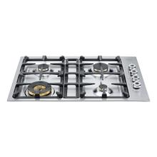 See Details - 30 4-Brass Burners Low-Profile Cooktop