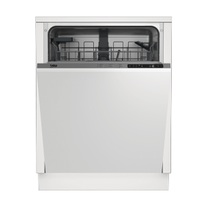 BekoTall Tub Dishwasher, 14 place settings, 48 dBa, Fully Integrated Panel Ready