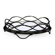 glomise & Bronze Circular Tray