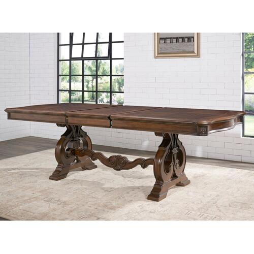 Steve Silver Co. - Royale 76-96 inch Table with 20 inch Leaf