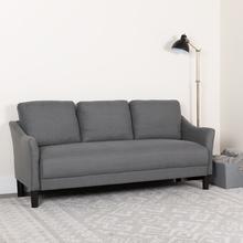Product Image - Asti Upholstered Sofa in Dark Gray Fabric