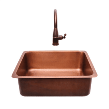 COPPER UNDERMOUNT SINK 23 x 17.25