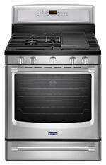 Maytag MGR8800DS Gas Ranges 30&quote; Free Standing Gas Range 30-inch Wide Gas Range with Convection and Power Preheat - 5.8 cu. ft.