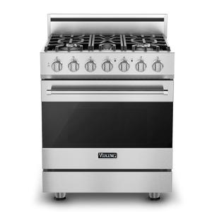 "Viking30"" Self-Cleaning Dual Fuel Range - RVDR3302 Viking 3 Series"