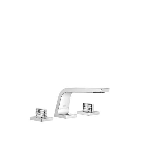 Dornbracht - Three-hole lavatory mixer without drain - polished chrome