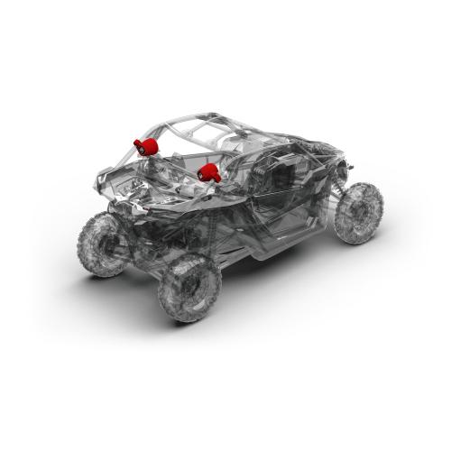 Rockford Fosgate - Add-on rear speakers for X317-STAGE2 & X317-STAGE3 (Gen-2)