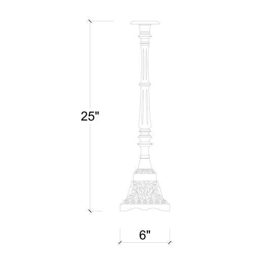 Arcata Iron Candlestick