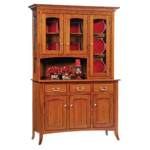 See Details - 3-Door Shaker Hutch & Buffet