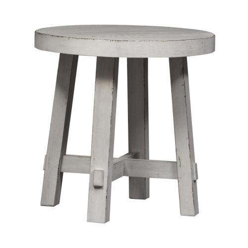 Splay Leg Round End Table