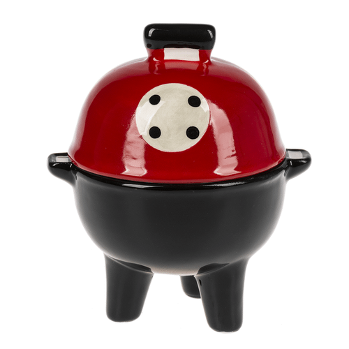 Salt & Pepper Shakers - Stacking Grill (1 pair)