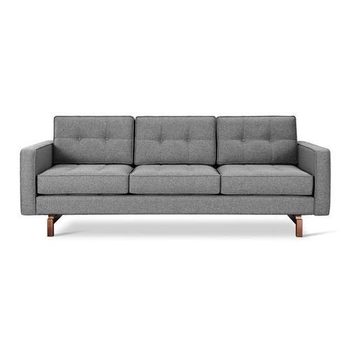 Product Image - Jane 2 Sofa Parliament Stone / Walnut
