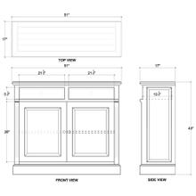 Hudson 2 Door Sideboard