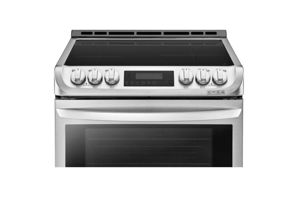 6.3 cu. ft. Smart wi-fi Enabled Induction Slide-in Range with ProBake Convection® and EasyClean® Photo #4
