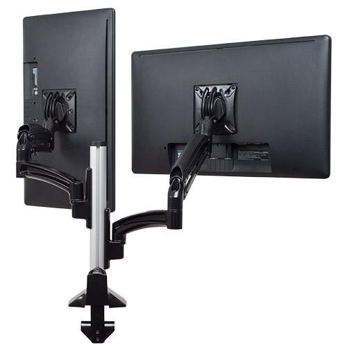 Kontour K1C Dual Monitor Dynamic Column Mount, Reduced Height