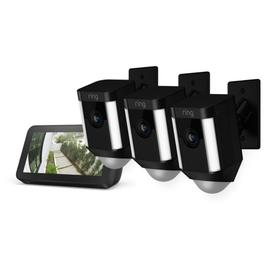 3-Pack Spotlight Cam Mount with Echo Show 5 - Black